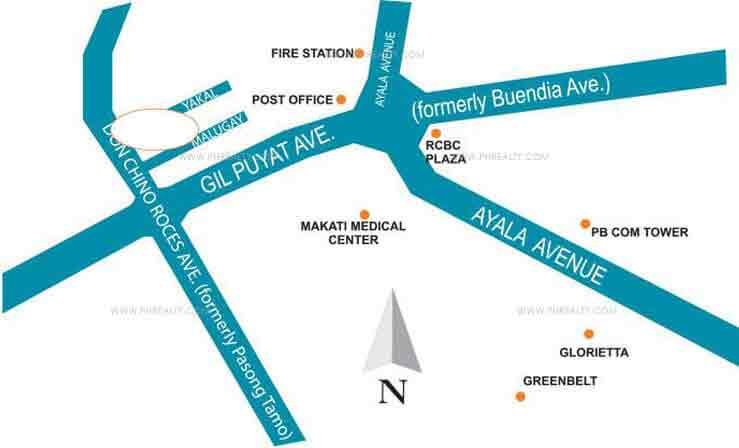 First Homes Makati - Location & Vicinity