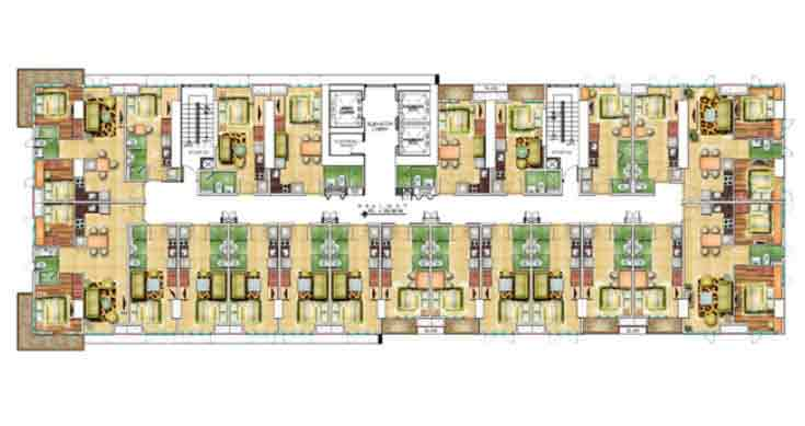 Congressional Town Center - 10th Floor Plans
