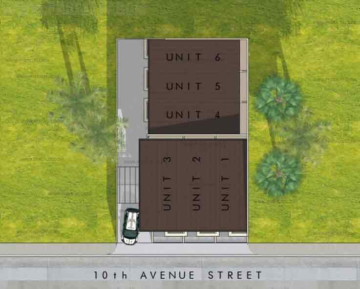 10th Avenue Townhomes - Site Development Plan