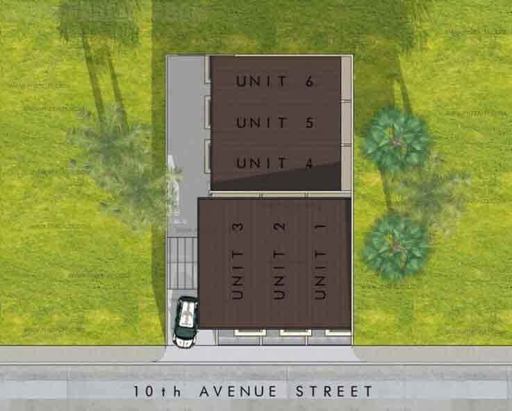 10th Avenue Townhomes - Site Development Plan