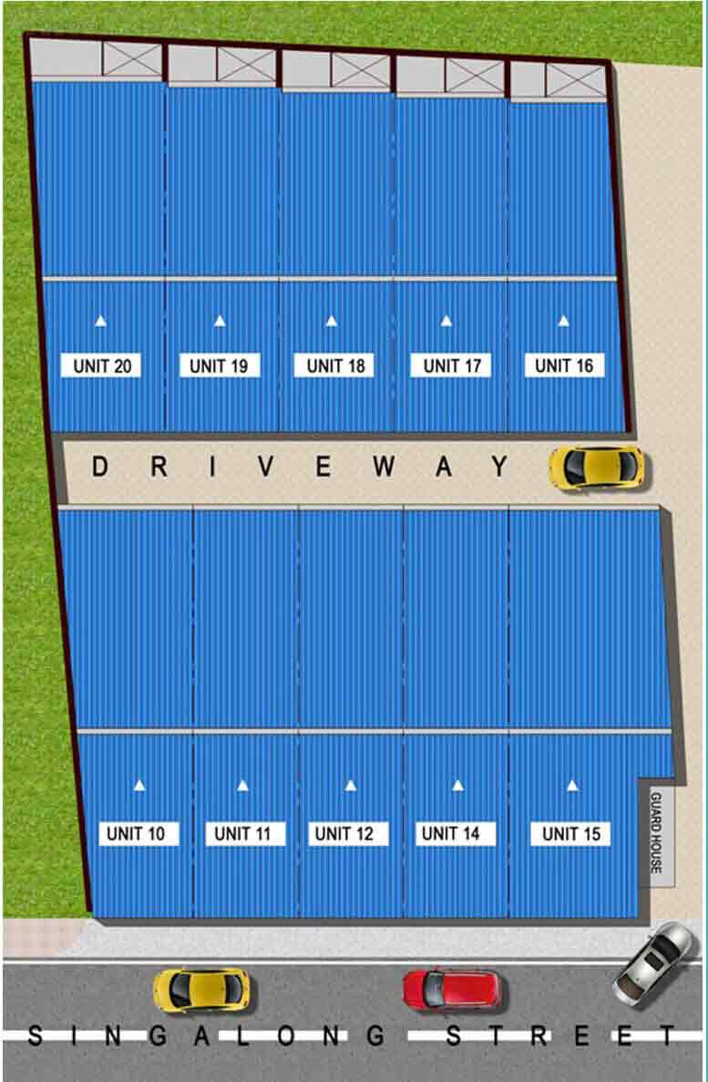 Singalong Townhomes II - Site Development Plan