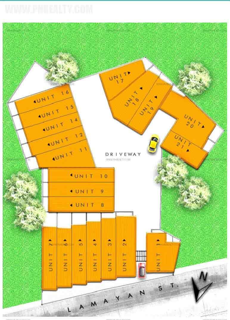 Santa Anna - Site Development Plan
