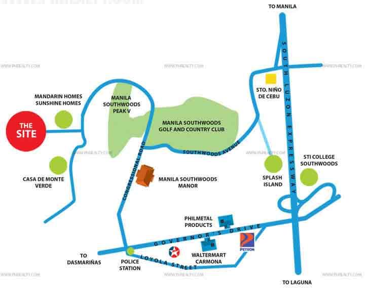 Alta Tierra Homes - Location & Vicinity