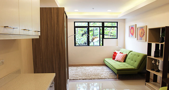 55 Kalayaan Suites - Living Area