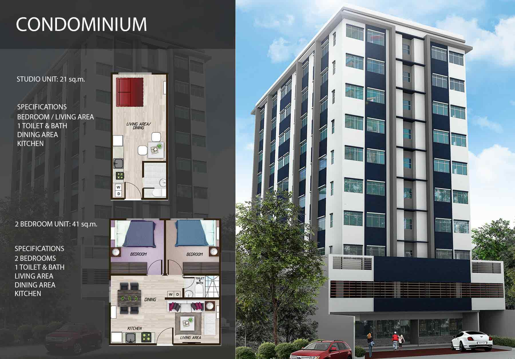 55 Kalayaan Suites - Typical Unit Plan