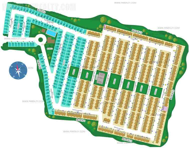 Calamba Park Residences - Site Development Plan