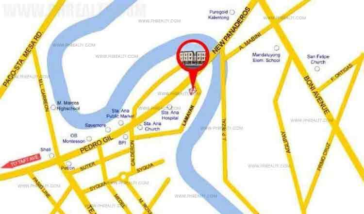 Pag asa Townhomes - Location & Vicinity