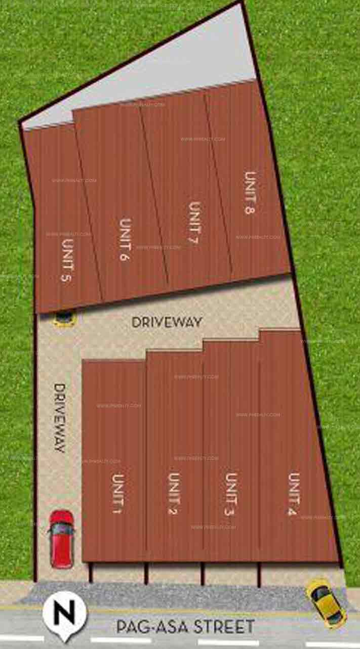 Pag asa Townhomes - Site Development Plan
