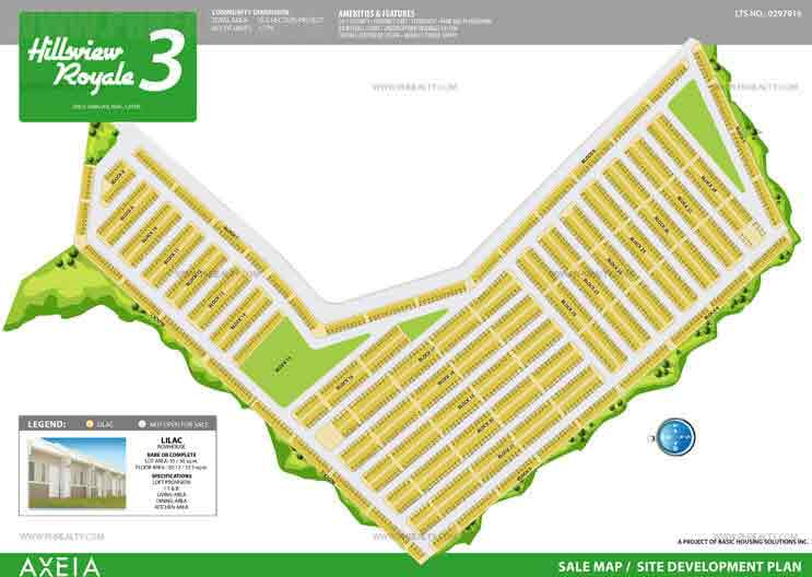 Hillsview Royale - Site Development Plan