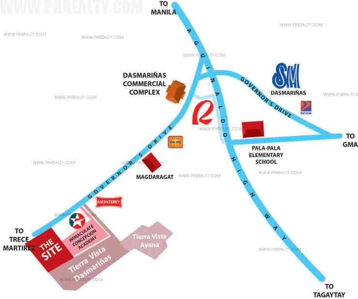 Kazari Residences - Location & Vicinity