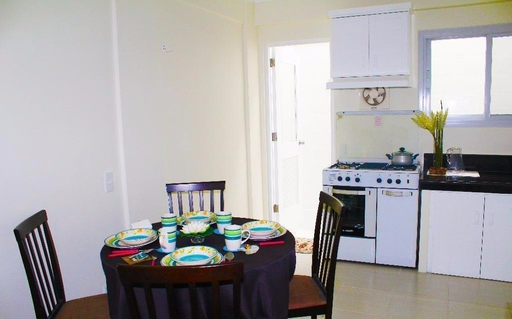 Protacio Townhomes - Kitchen and Dining Area