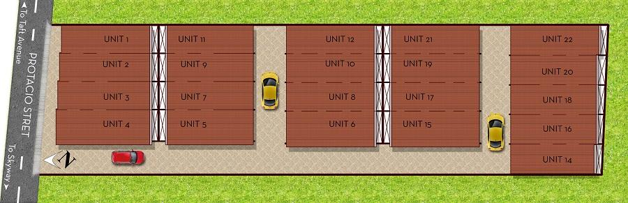 Protacio Townhomes - Site Development Plan