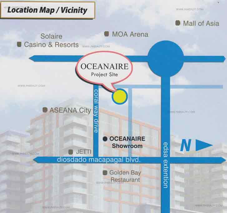 Oceanaire - Location & Vicinity