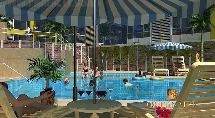 Oceanaire - Swimming Pool Area 2