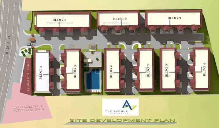 The Avenue Residences - Site Development Plan