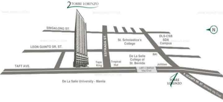 2 Torre Lorenzo - Location & Vicinity