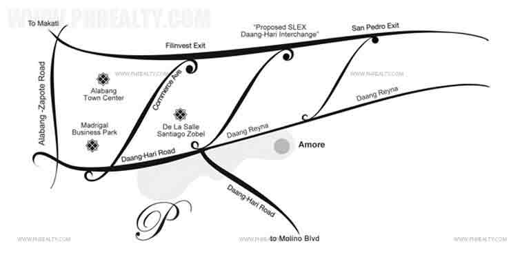 The Amore Portifino - Location & Vicinity