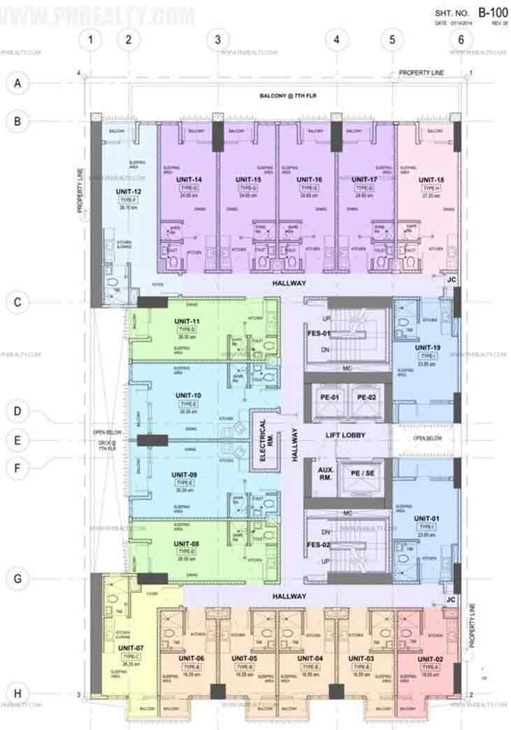 Torre Central - Floor Plans