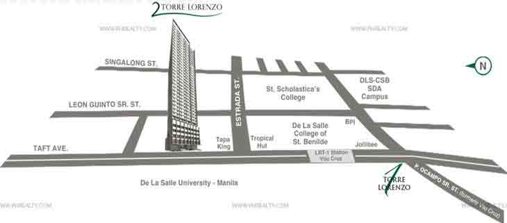 Torre Central - Location & Vicinity