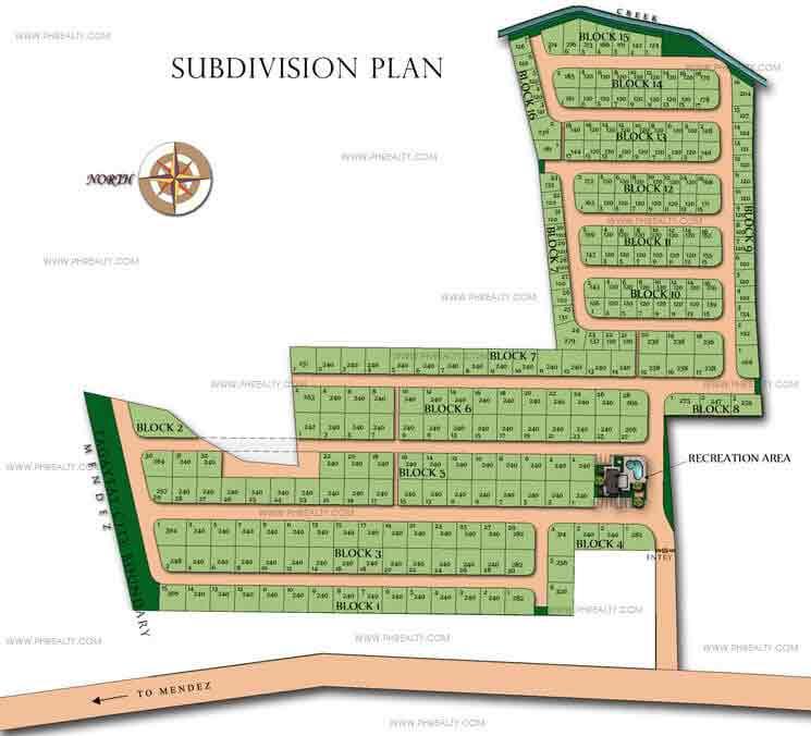 Ashiyana Tagaytay Classics - Site Development Plan