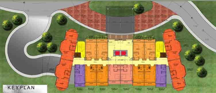 Alpine Village - Ground Floor Plan