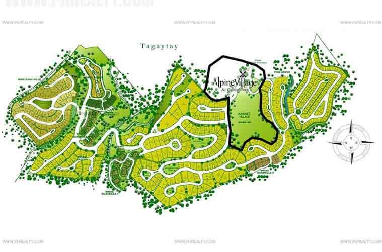 Alpine Village - Site Development Plan