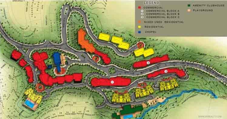 Alpine Village - Site Map