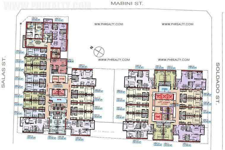 La Nobleza Terrazas - Floor Plan