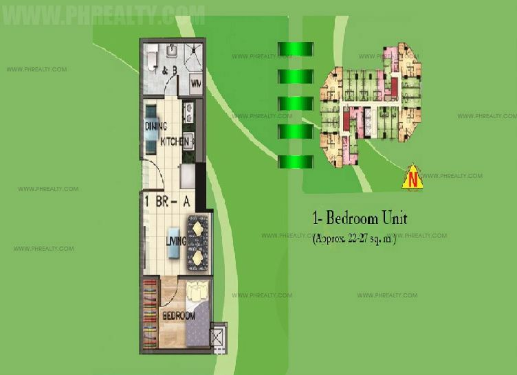 The Exchange Regency - Unit A 1-Bedroom