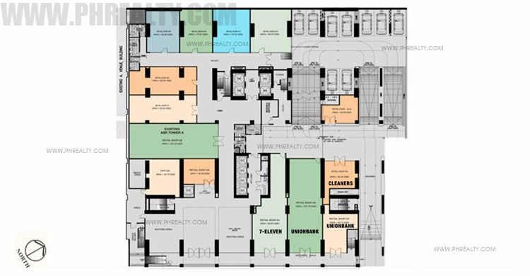 Antel Spa Suites - Ground Floor Plan