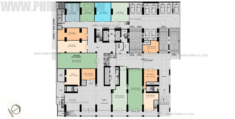 Antel Spa Suites - 1st Floor Plan