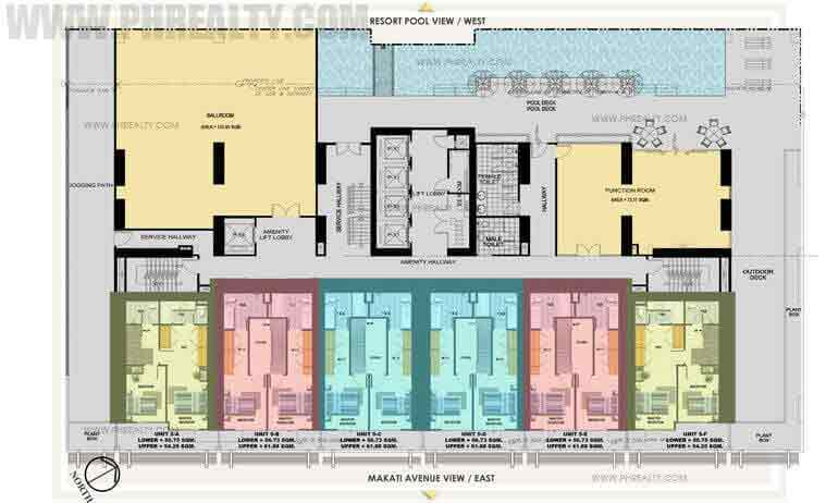 Antel Spa Suites - 5th Floor Plan