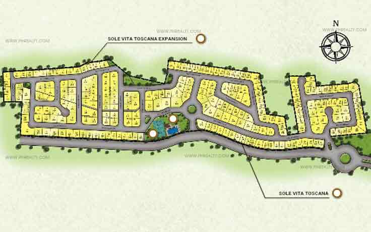 Vitta Toscana - Site Development Plan