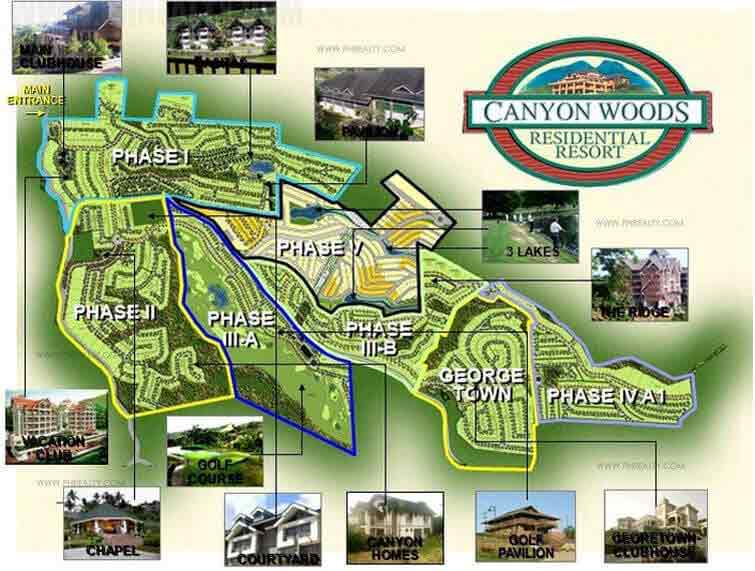 Canyon Woods The Peak Condotel - Master Plan