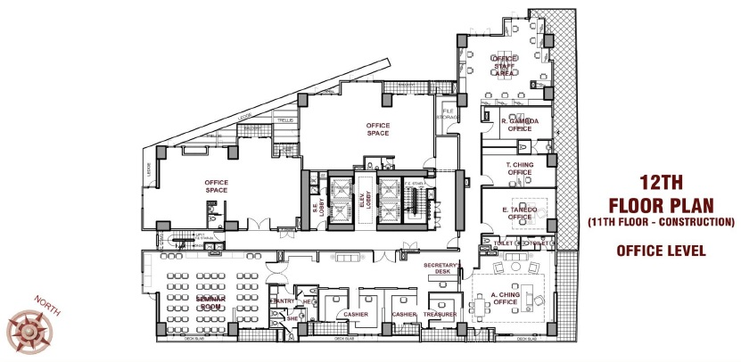 CBY Tower - 12th Floor Plan