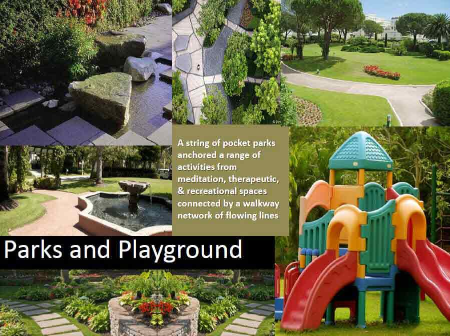 The Olive Place - Parks & Playgrounds