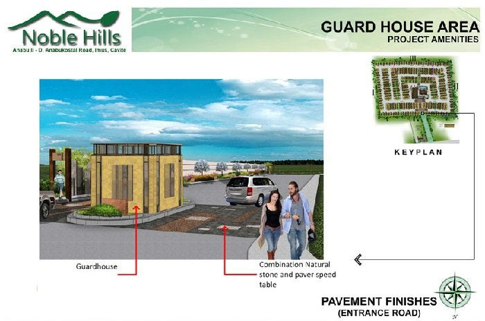 Noble Hills Subdivision - Guard House Area