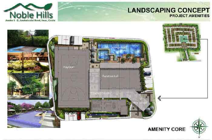 Noble Hills Subdivision - Landscaping Concept