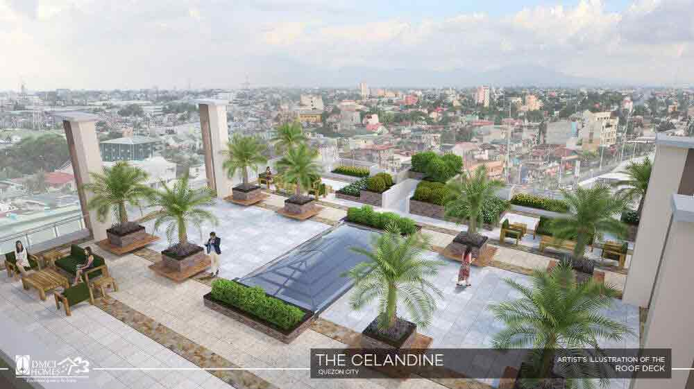 The Celandine Residences - Roof Deck