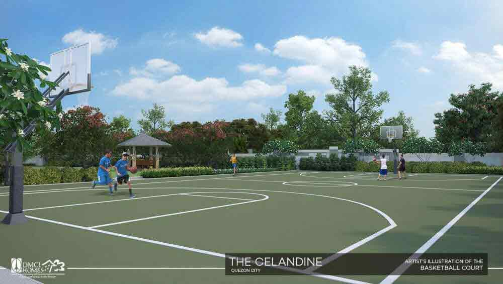 The Celandine Residences - Basket Ball Courts