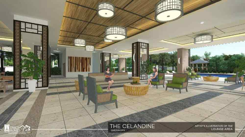 The Celandine Residences - Lounge