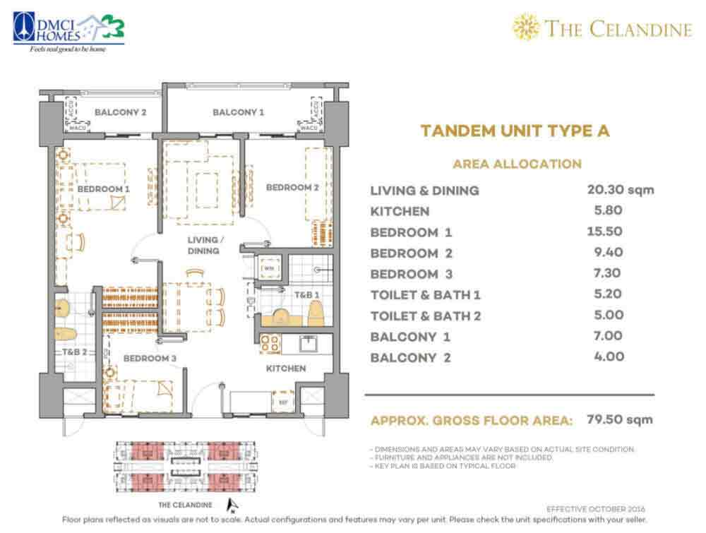 The Celandine Residences - Tandem Unit
