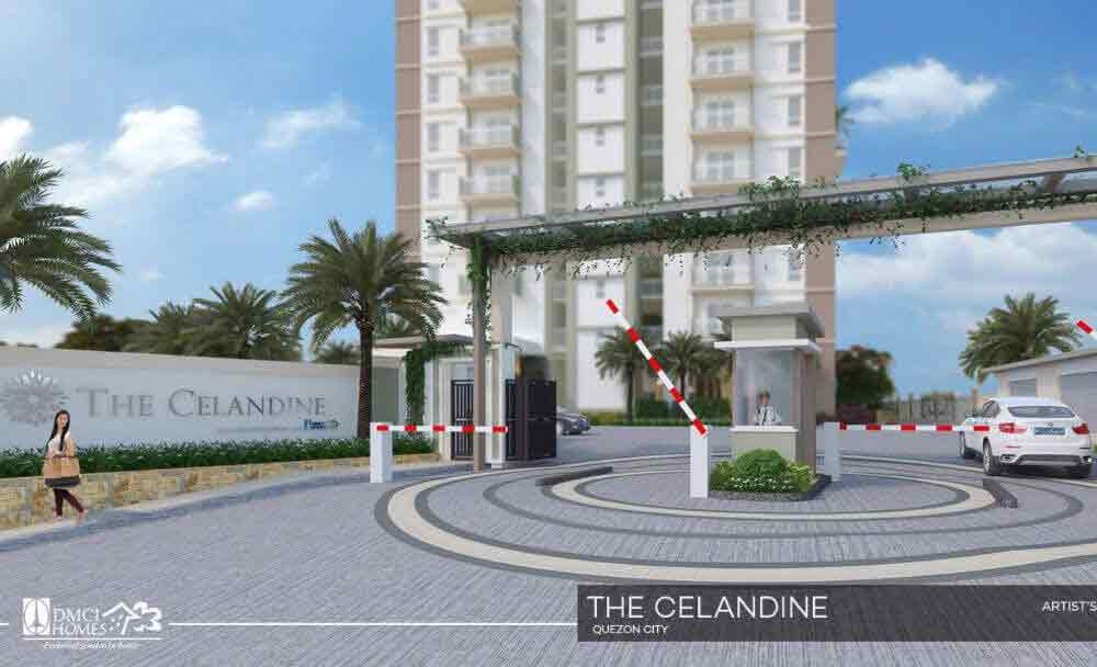The Celandine Residences - Entrance