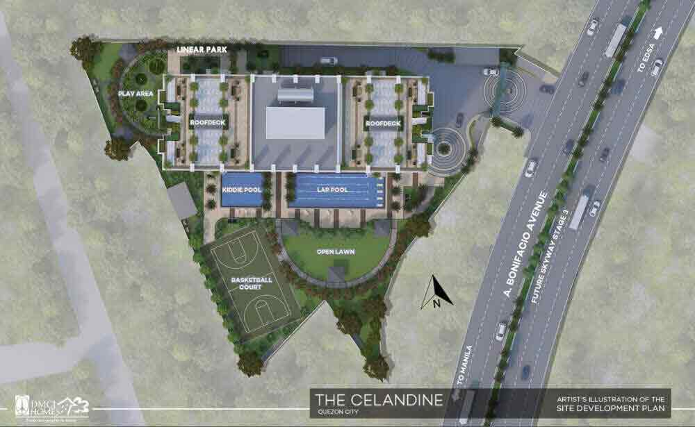 The Celandine Residences - Site Development Plan