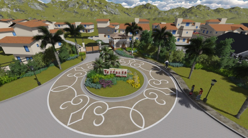 Terrazza De Sto. Tomas - Architect's Rendition of the Entrance Rotunda