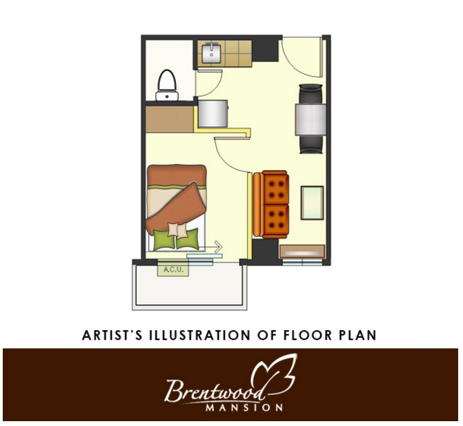 Brentwood Mansion - One Bedroom Unit
