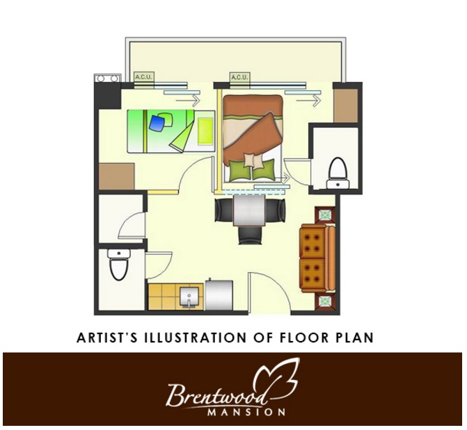 Brentwood Mansion - Two Bedroom Unit