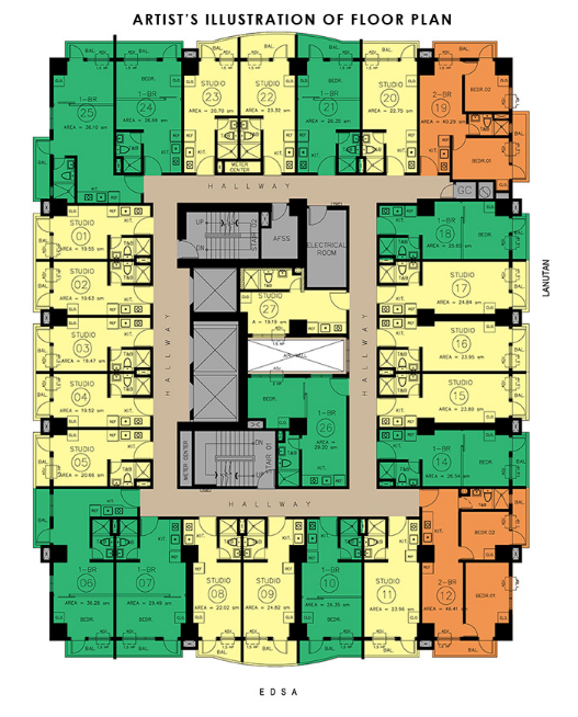 North Residences - Floor Plan