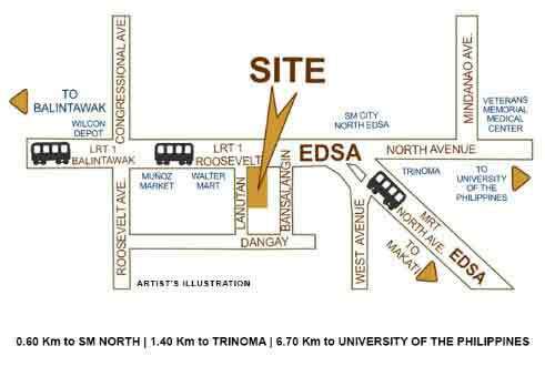 North Residences - Location & Vicinity