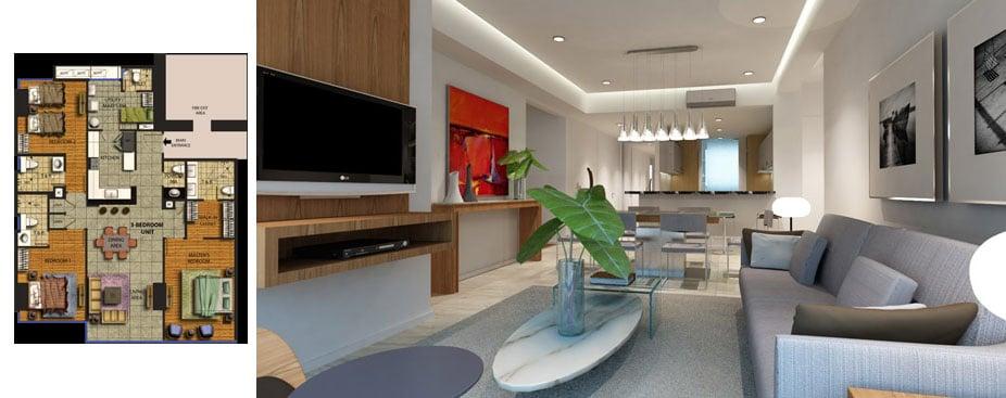 27 Annapolis - 3-Bedroom Floor Plan
